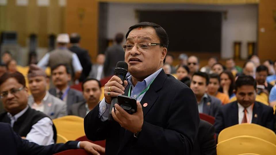 उद्योग वाणिज्य संघ काठमाण्डौंले ५ बुँदे माग राख्दै चर्को व्याजदरको विरोध